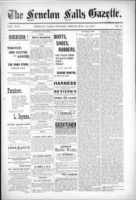Fenelon Falls Gazette, 7 May 1897