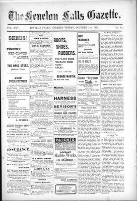 Fenelon Falls Gazette, 1 Oct 1897