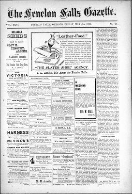 Fenelon Falls Gazette, 6 May 1898