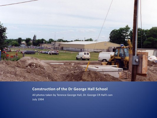 Dr. George Hall School Construction