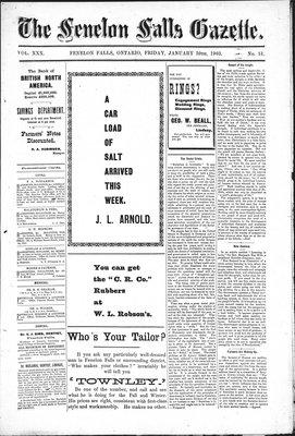 Fenelon Falls Gazette, 30 Jan 1903