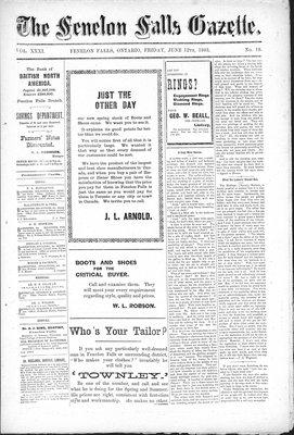 Fenelon Falls Gazette, 12 Jun 1903