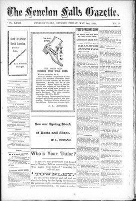 Fenelon Falls Gazette, 6 May 1904