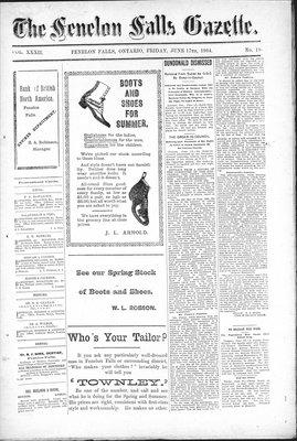 Fenelon Falls Gazette, 17 Jun 1904