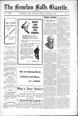 Fenelon Falls Gazette, 24 Jun 1904
