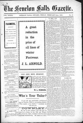 Fenelon Falls Gazette, 24 Feb 1905