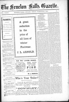 Fenelon Falls Gazette, 24 Mar 1905