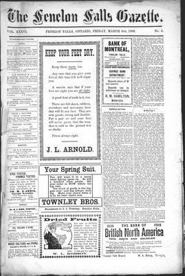 Fenelon Falls Gazette, 6 Mar 1908