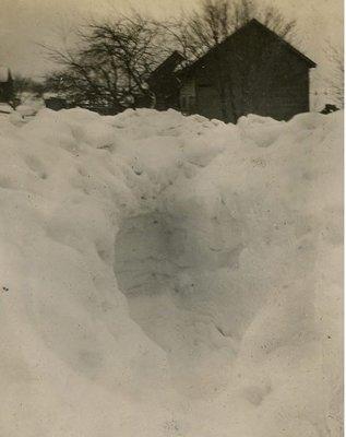 Snowbank Little Britain
