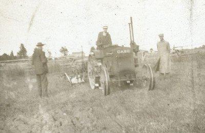 Tractor at Lindsay