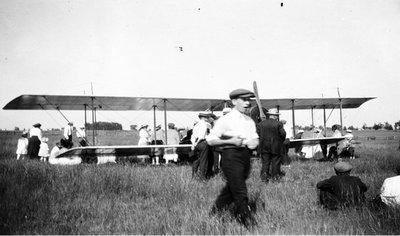 Plane in Field Little Britain