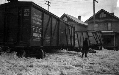Lindsay Train Derailment