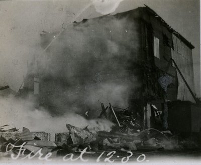 Flavelle Fire Early 1900s