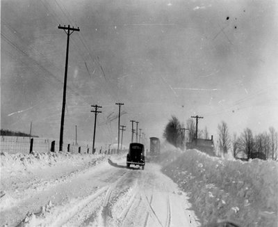Dr. George C.R. Hall's Car Driving in Winter