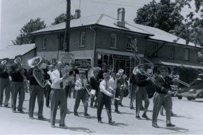 Marching Band Little Britain 1950's