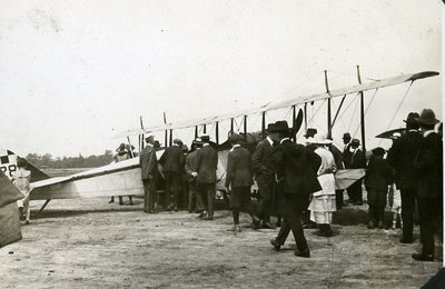Group Around Plane Armour Heights