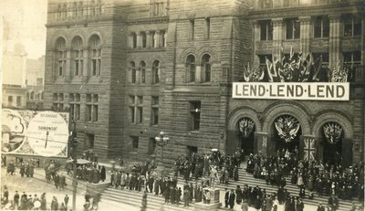 City Hall During Victory Loan