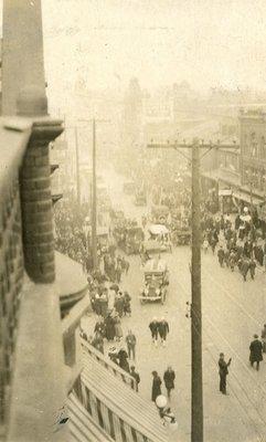 Yonge Street Armistice Day