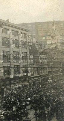 Yonge Street Armistice Day November 11, 1919