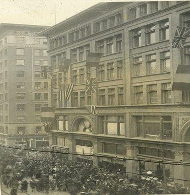 University Avenue Armistice Day