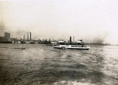 Boat by Toronto 1922