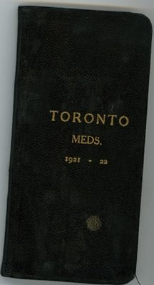 Dr. George C.R. Hall's Medical Journal