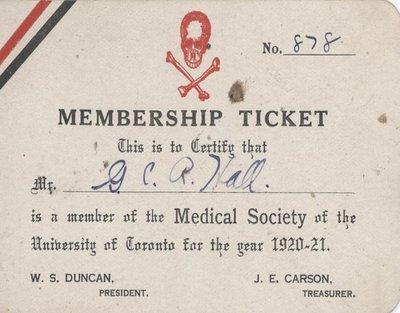 Membership Ticket