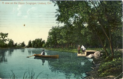 Boating on the Upper Scugogue [Scugog]