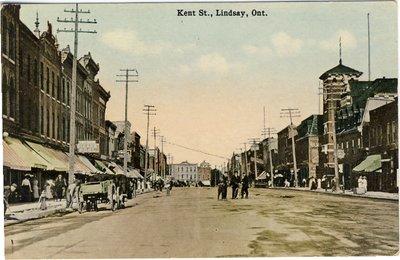 """""""Kent St."""" Lindsay, Ont."""