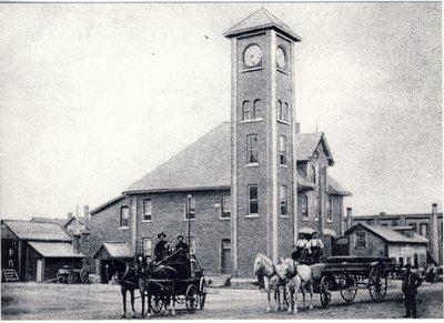 Fire Hall, Lindsay, Ontario