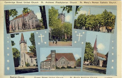 Local Churches of Lindsay, Ontario