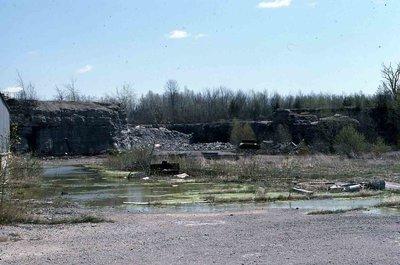 Stone quarry, Baseline Road, Coboconk