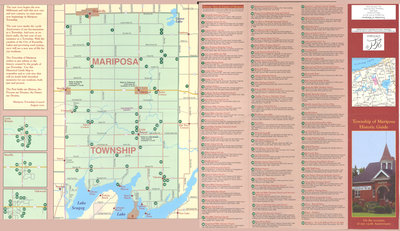 Township of Mariposa Historic Guide Map