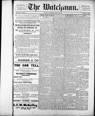 Watchman (1888), 3 Jan 1895