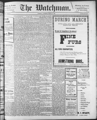 Watchman (1888), 3 Mar 1898