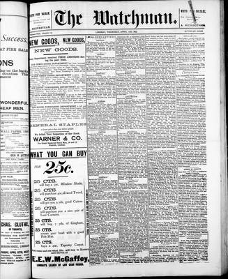 Watchman (1888), 11 Apr 1895