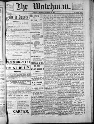 Watchman (1888), 12 Nov 1896