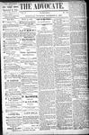 Woodville Advocate (1878), 21 Nov 1878