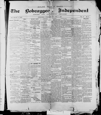 Bobcaygeon Independent (1870), 7 Apr 1899