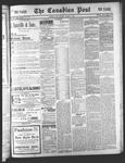 Canadian Post (Lindsay, ONT)4 Mar 1898