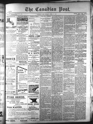 Canadian Post (Lindsay, ONT), 10 Apr 1896