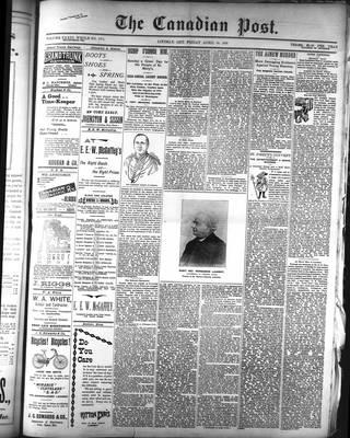Canadian Post (Lindsay, ONT), 24 Apr 1896