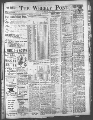 Canadian Post (Lindsay, ONT), 28 Jul 1899