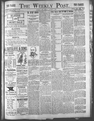 Canadian Post (Lindsay, ONT), 4 Aug 1899