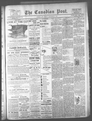 Canadian Post (Lindsay, ONT), 20 Sep 1894