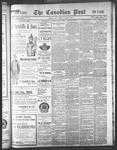 Canadian Post (Lindsay, ONT), 29 Oct 1897