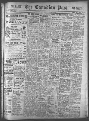 Canadian Post (Lindsay, ONT), 14 Oct 1898
