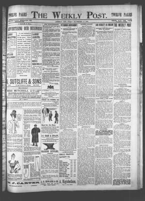 Canadian Post (Lindsay, ONT), 17 Nov 1899
