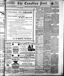 Canadian Post (Lindsay, ONT)30 Dec 1892