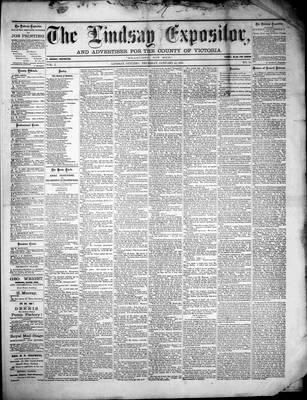 Lindsay Expositor (1869), 13 Jan 1870